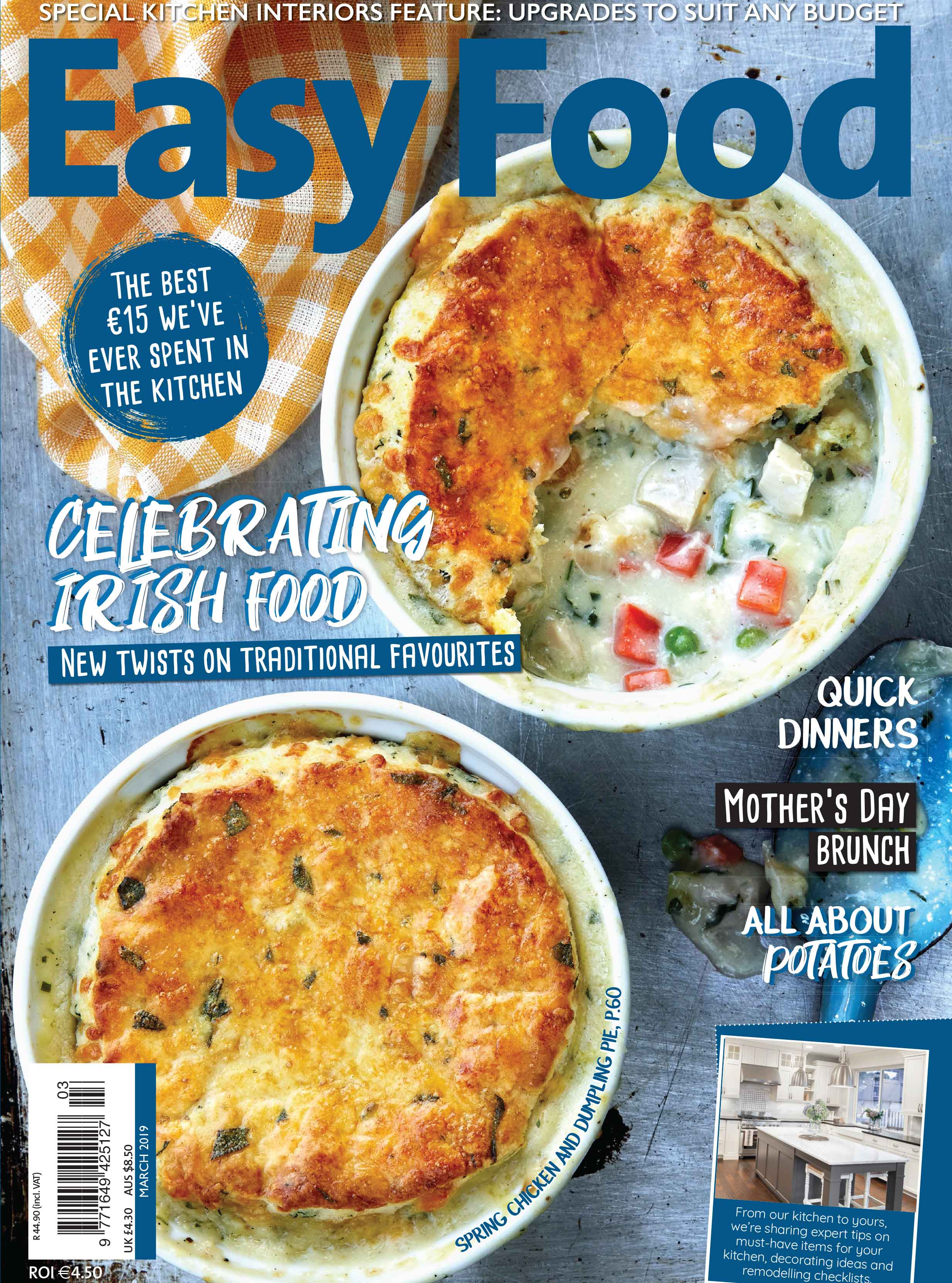Easy Food March 2019 issue 137 cover