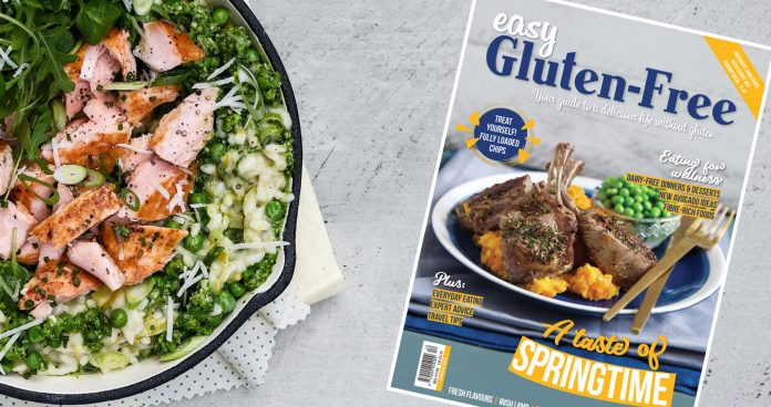 Easy Gluten-Free Spring 2019 issue 12 cover Easy Food