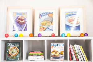 Easy Food office shelves