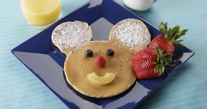 """Mickey Mouse Pancakes"", Riverbelle Terrace, Disneyland Park"