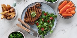 Ale marinated steak
