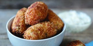Bacon and cabbage croquettes