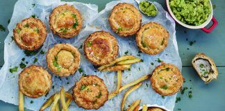 Cheat's pork pies