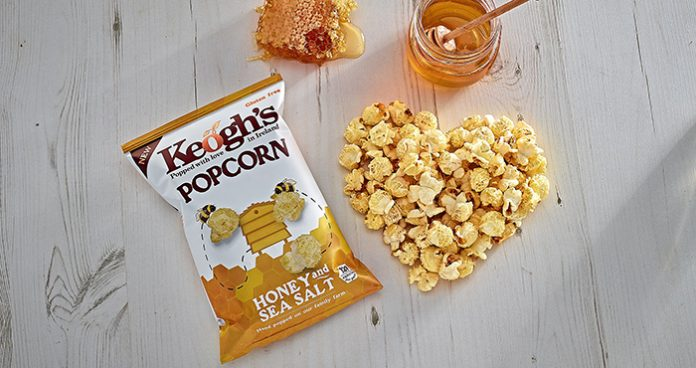 Win Keoghs Honey and Sea Salt popcorn competition Easy Food Easy Gluten Free