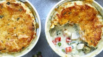 Individual Chicken Pot Pie