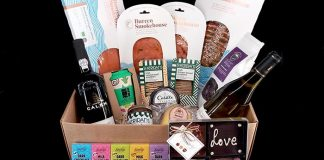 Hamper of artisan Burren Smokehouse products Easy Food