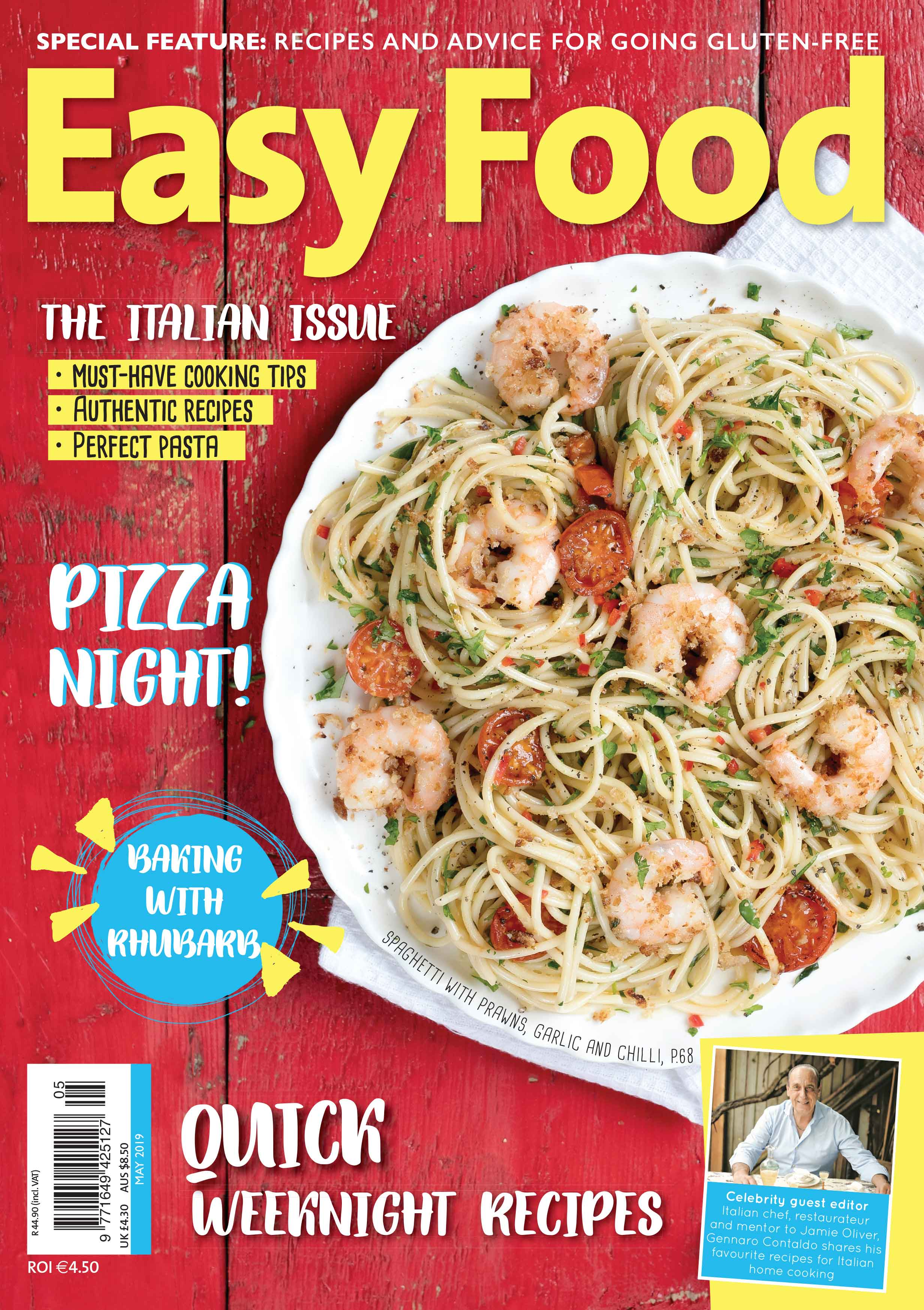 Easy Food issue 139 May 2019 out now new issue cover