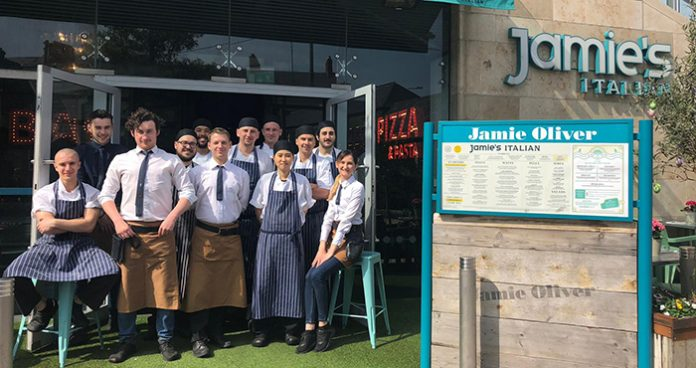 Jamies Italian Dundrum Easy Food