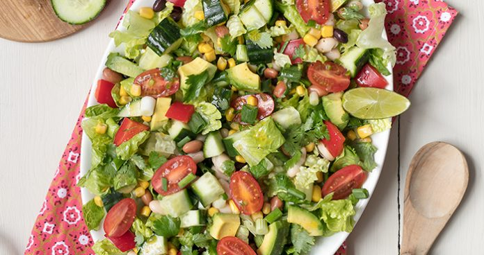 Mexican_Chopped_Salad easy food