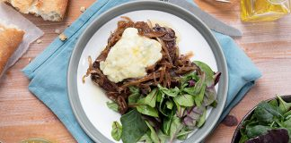 Wicklow Blue steaks with caramelised onions Easy Food Irish cheese Eat Ireland Jocelyn Doyle