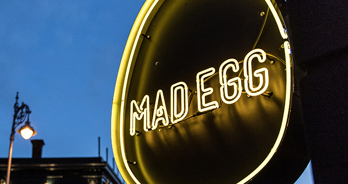 Mad Egg free range fried chicken Easy Food
