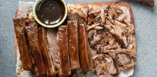 brisket, easy entertaining, slow cooking, slow cooker, beef, roast,