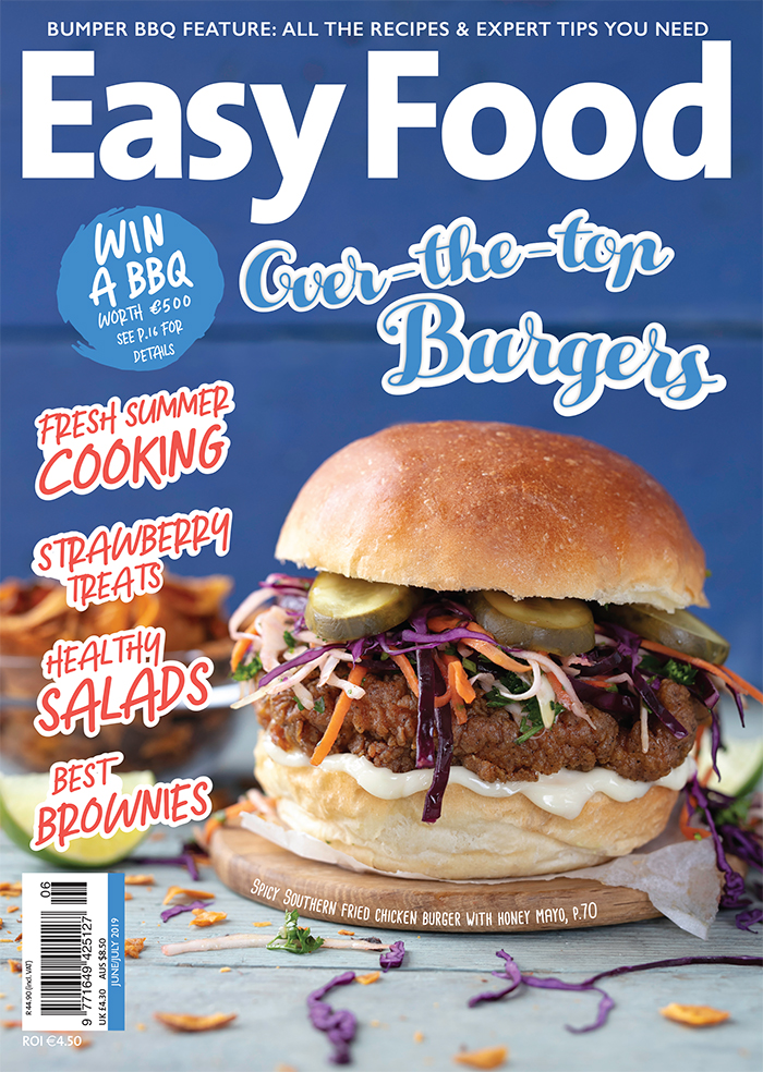 Easy Food June July Summer Special 2019 cover issue 140