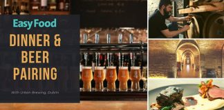 Urban Brewing Stack A Restaurant beer and food event Easy Food evening