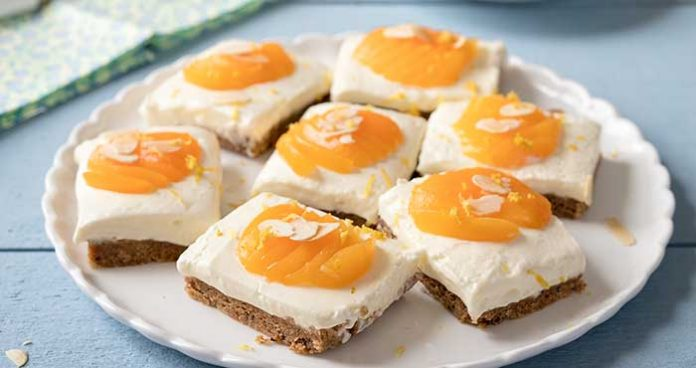 Almond_Apricot_Cheesecake_Bars Easy food