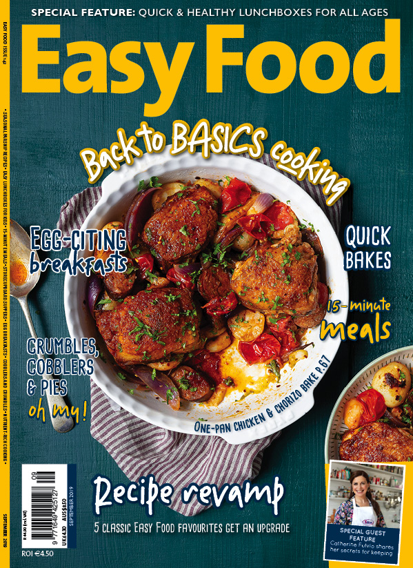 Easy Food issue 142 September 2019 cover image magazine
