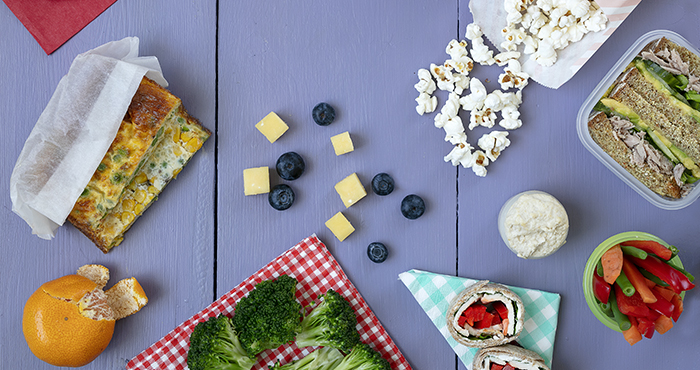 Creative lunchbox ideas back to school September Easy Food