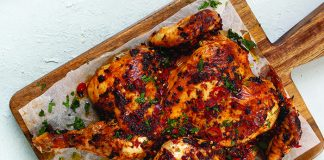 Barbecue BBQ peri peri chicken Easy Food