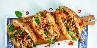 Chicken_Satay_Banh_Mi_Easy food