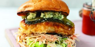 Fried_Chicken_Burger_Easy Food