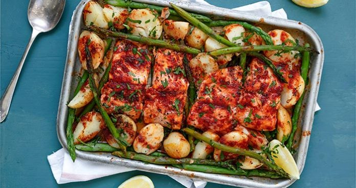 One_Pan_Honey_Trout_Easy Food
