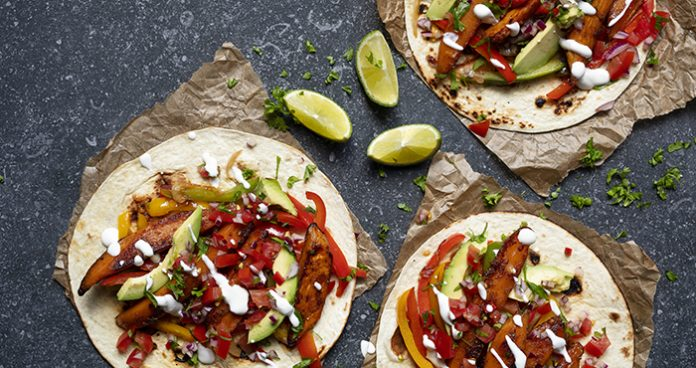 Sweet potato fajitas Easy Food