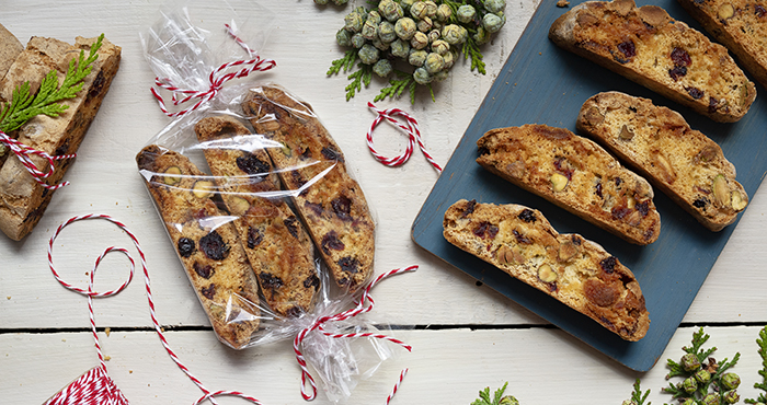 Biscotti Easy Food Christmas Annual 2019 edible gifts