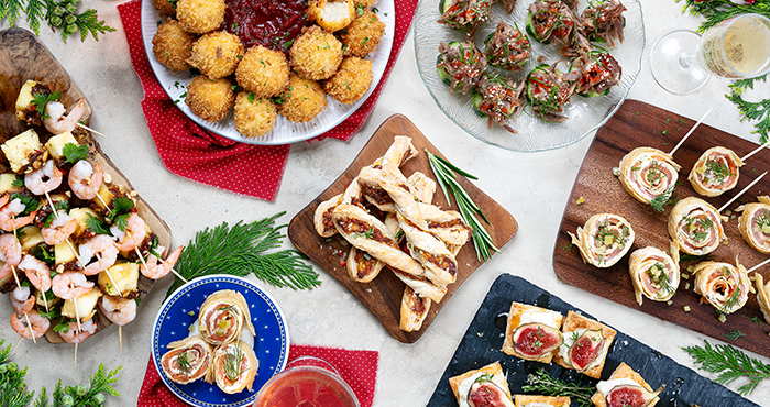Canapes Easy Food Christmas Annual 2019