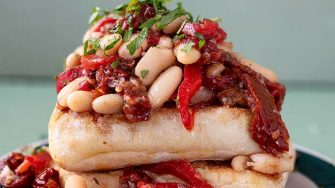 Marinated_Beans_Toast_Easy Food