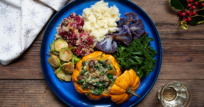 Meat free Christmas main courses Easy Food Christmas Annual 2019