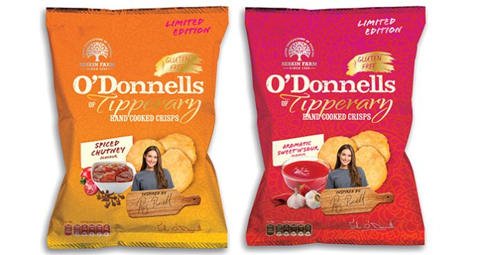 O'Donells crisps new flavours Easy Food