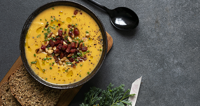 Roasted Squash Soup Easy Food Christmas Annual 2019