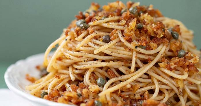 Spagetti_Anchovies_Easy Food