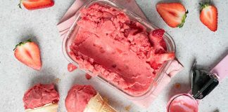 Strawberry_Icecream_Easy Food