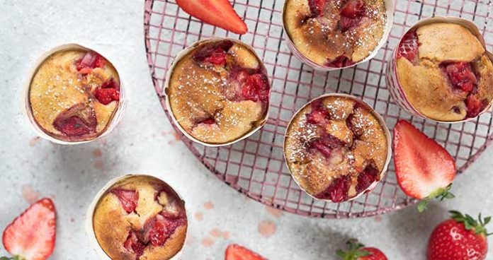 Strawberry_Muffin_Easy Food