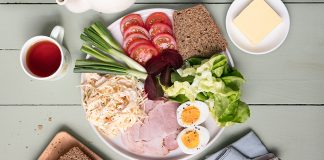 Teatime_Salad_Plates Easy Food