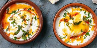 Turkish_Poached_Eggs Easy Food