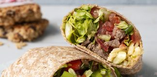 Wholemeal_Beef_Burrito Easy Food