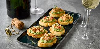 Crab_Avocado_Crostini Easy food