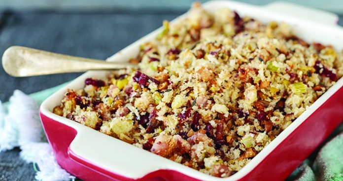 Pistachio&cranberry_stuffing Easy Food