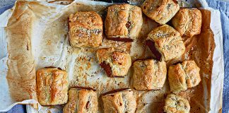 Sausage rolls Credit Joanne Murphy_FX roz purcell