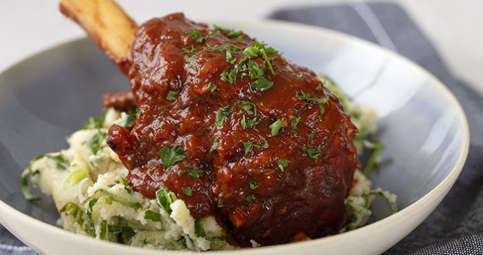 braised_lamb_shanks_colcannon Easy Food