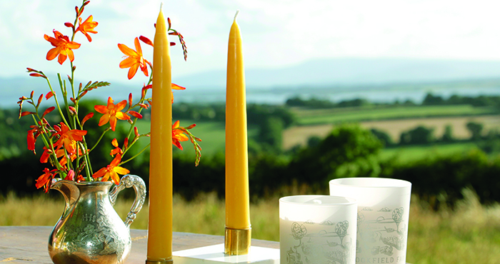 candles Brookfield Farm Eat ireland Jocelyn Doyle Easy Food