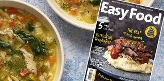 Easy Food magazine March 2020 front cover issue 146