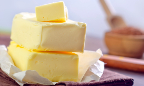 Butter is the key element to anything you bake.