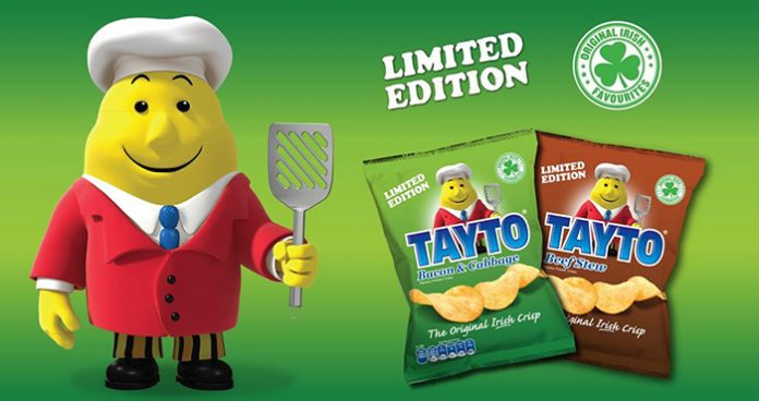 Tayto's two new flavours