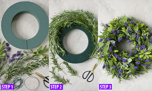 How to make the wreath