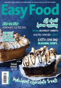 Easy Food 2020 April issue 147 front cover