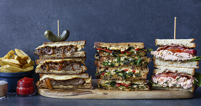 Indulgent sandwiches Easy Food