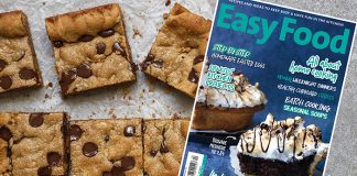 Easy Food issue 147 April 2020 covid-19 cooking inspiration